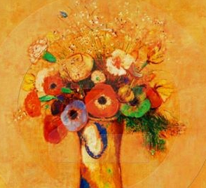 odilon-redon-flower-paintings